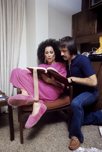 """The Sonny and Cher Comedy Hour""Cher, Sonny Bono1972© 1978 Gene Trindl - Image 1273_0069"