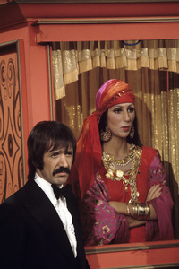 """The Sonny and Cher Comedy Hour""Sonny Bono, Chercirca 1974© 1978 Gene Trindl - Image 1273_0070"