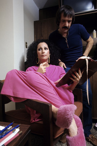 """The Sonny and Cher Comedy Hour""Cher, Sonny Bono1972© 1978 Gene Trindl - Image 1273_0071"