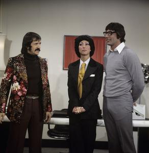 """The Sonny and Cher Comedy Hour""Sonny Bono, Cher, Joe Namathcirca 1973** H.L. - Image 1273_0082"
