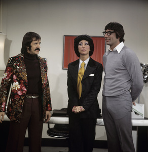 """The Sonny and Cher Comedy Hour""Sonny Bono, Cher, Joe Namathcirca 1973** H.L. - Image 1273_0082"