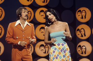 """""""The Sonny and Cher Comedy Hour""""Sonny Bono, Chercirca 1973** H.L. - Image 1273_0084"""