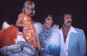 """Sonny and Cher Comedy Hour, The""Chastity Bono, Cher, Sonny Bonoc.1973 CBS**H.L. - Image 1273_0089"