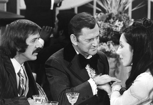 """Sonny and Cher Comedy Hour""Sonny, Cher and Tony Randallcirca 1972**I.V. - Image 1273_0101"