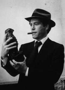 """The Black Bird,"" George Segal1975 Columbia © 1978 Mel Traxel - Image 12732_0003"