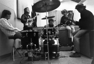The Electric Prunes during a recording session1967 © 1978 Ed Thrasher - Image 12746_0001