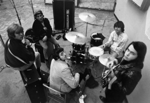 The Electric Prunes during a recording session1967 © 1978 Ed Thrasher - Image 12746_0002