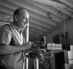 Photographer Sid Avery at work shooting Cami Sebring circa 1965 © 1978 Sid Avery - Image 12819_0007