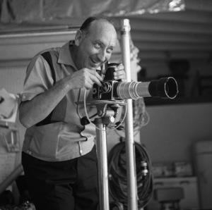 Photographer Sid Avery at work shooting Cami Sebring circa 1965 © 1978 Sid Avery - Image 12819_0008