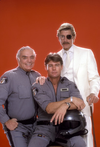 """Airwolf""Ernest Borgnine, Jan-Michael Vincent, Alex Cord1984 © 1984 Mario Casilli - Image 1283_0007"