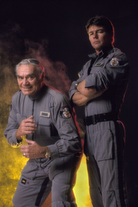 """Airwolf""Ernest Borgnine, Jan-Michael Vincent 1984 © 1984 Mario Casilli - Image 1283_0009"