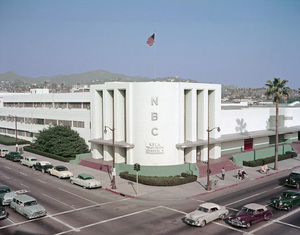 NBC Studio in Hollywood, Californiacirca 1950sPhoto by Gerald Smith - Image 12910_0001