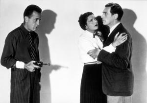"""King of the Underworld""Humphrey Bogart and Kay Francis1938 Warner Bros.MPTV - Image 12941_0001"