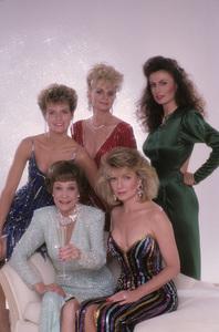 """Falcon Crest""Dana Sparks, Jane Wyman, Margaret Ladd, Susan Sullivan, Ana Alicia1987© 1987 Mario Casilli - Image 12973_0017"
