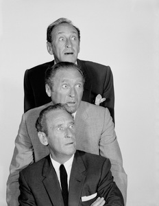 The Ritz Brothers (Al, Harry and Jimmy) 1958Photo by Gabi Rona - Image 12978_0001