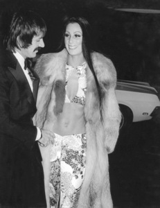 """Golden Globe Awards"" 1973Sonny and Cher © 1978 Kim Maydole Lynch - Image 13007_0003"