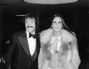 """Golden Globe Awards"" 1973Sonny and Cher © 1978 Kim Maydole Lynch - Image 13007_0004"