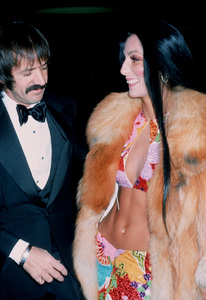 """Golden Globe Awards"" 1973Sonny and Cher © 1978 Kim Maydole Lynch - Image 13007_0005"