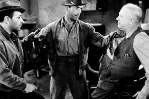 """They Drive By Night""Humphrey Bogart and George Raft1940 Warner Bros.MPTV - Image 13036_0001"