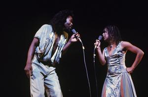 """Ashford & Simpson"" (Valerie Simpson and Nick Ashford) in concert1976 © 1978 Ed Thrasher - Image 13047_0002"