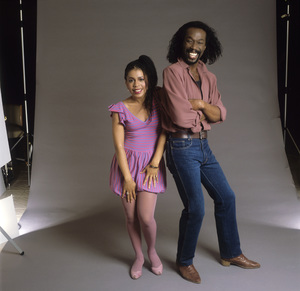 Ashford & Simpson (Nickolas Ashford and Valerie Simpson)circa 1980 © 1980 Bobby Holland - Image 13047_0042