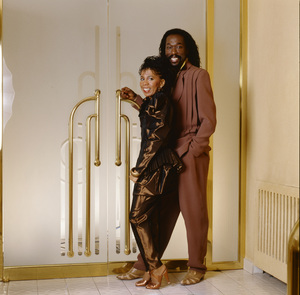 Ashford & Simpson (Nickolas Ashford and Valerie Simpson) 1982 © 1982 Bobby Holland - Image 13047_0044