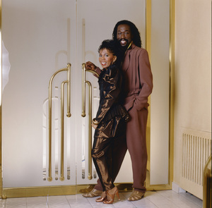 Ashford & Simpson (Nickolas Ashford and Valerie Simpson) 1982 © 1982 Bobby Holland - Image 13047_0046