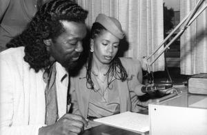 Ashford & Simpson (Nickolas Ashford and Valerie Simpson) 1978© 1978 Bobby Holland - Image 13047_0047