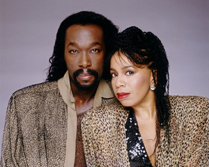 Ashford & Simpson (Nickolas Ashford and Valerie Simpson) 1982 © 1982 Bobby Holland - Image 13047_0049