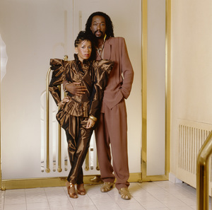 Ashford & Simpson (Nickolas Ashford and Valerie Simpson) 1982 © 1982 Bobby Holland - Image 13047_0051