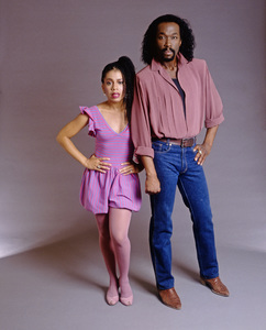 Ashford & Simpson (Nickolas Ashford and Valerie Simpson) 1982 © 1982 Bobby Holland - Image 13047_0053
