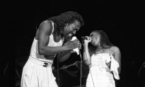 Ashford & Simpson (Nickolas Ashford and Valerie Simpson) performing live at the Santa Monica Civic Auditorium in Santa Monica, CA 1980© 1980 Michael Jones - Image 13047_0056