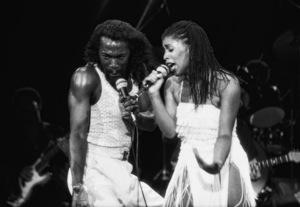 Ashford & Simpson (Nickolas Ashford and Valerie Simpson) performing live at the Santa Monica Civic Auditorium in Santa Monica, CA 1980© 1980 Michael Jones - Image 13047_0058