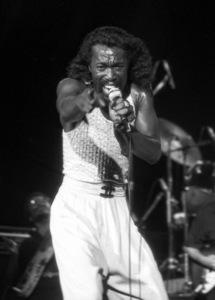 Ashford & Simpson (Nickolas Ashford) performing live at the Santa Monica Civic Auditorium in Santa Monica, CA 1980© 1980 Michael Jones - Image 13047_0059