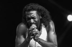 Ashford & Simpson (Nickolas Ashford) performing live at the Santa Monica Civic Auditorium in Santa Monica, CA 1980© 1980 Michael Jones - Image 13047_0060