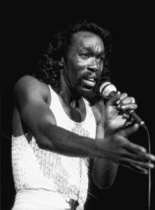 Ashford & Simpson (Nickolas Ashford) performing live at the Santa Monica Civic Auditorium in Santa Monica, CA 1980© 1980 Michael Jones - Image 13047_0061