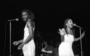 Ashford & Simpson (Nickolas Ashford and Valerie Simpson) performing live at the Santa Monica Civic Auditorium in Santa Monica, CA 1980© 1980 Michael Jones - Image 13047_0062
