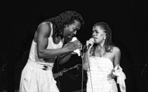 Ashford & Simpson (Nickolas Ashford and Valerie Simpson) performing live at the Santa Monica Civic Auditorium in Santa Monica, CA 1980© 1980 Michael Jones - Image 13047_0064