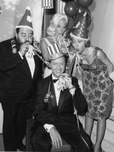 """Pantomime Quiz"" (aka ""Stump the Stars"")Sebastian Cabot, Mike Stokey, Diana Dorscirca 1956Photo by Gabi Rona - Image 13106_0013"