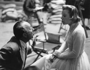 """""""The Opposite Sex""""Producer Joe Pasternak, June Allyson1956 MGM © 1978 Ken Whitmore - Image 13157_0025"""