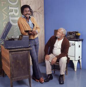 """Sanford and Son""Demond Wilson, Redd FoxxCirca. 1972NBC - Image 13197_0012"