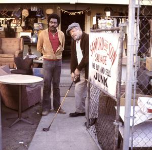 """Sanford and Son""Demond Wilson, Redd FoxxCirca. 1972NBC - Image 13197_0014"
