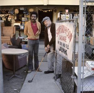 """""""Sanford and Son"""" Demond Wilson, Redd Foxx circa 1972 ** H.L. - Image 13197_0014"""
