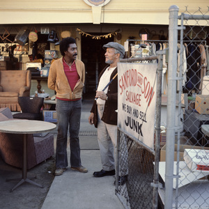 """Sanford and Son"" Demond Wilson, Redd Foxx circa 1972** H.L. - Image 13197_0021"