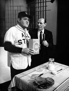 """The Jonathan Winters Show""Jonathan Winters, Leo Durochercirca 1957Photo by Gerald Smith - Image 13210_0004"