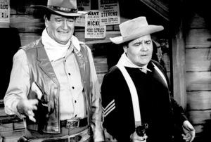 """The Jonathan Winters Show"" John Wayne and Jonathan Winters 1957 © 1978 Chester Maydole  - Image 13210_0005"