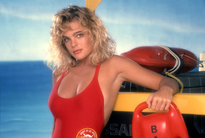 """""""Baywatch""""Erika Eleniak1989 © 1989 Mario Casilli - Image 1321_0158"""