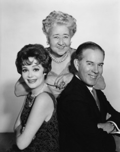 """Pete and Gladys""Harry Morgan, Cara Williams, Verna Felton1960Photo by Gabi Rona - Image 13296_0002"