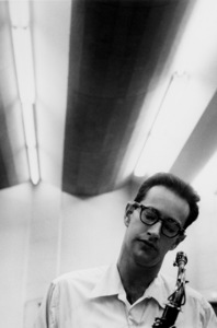 Paul Desmond at a recording session in Los Angeles, CA 1954 © 1978 Bob Willoughby - Image 13307_8