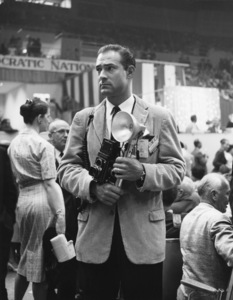 Photographer Gerald Smith at the Democratic National Convention in Los Angeles1960 © 1978 Gerald Smith - Image 13323_0006